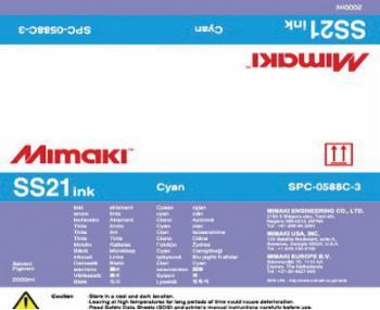 SS21 Series JV / CJV 33, 150 & 300   Mimaki USA SPC-0588C   Reece Supply
