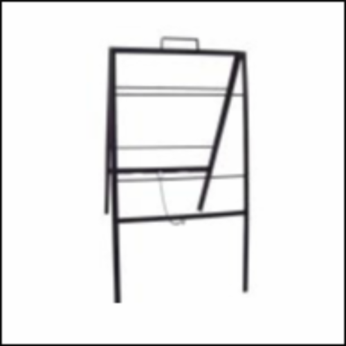 Metal | ISC 24x18 Sidewalk Folding Frame | Reece Supply