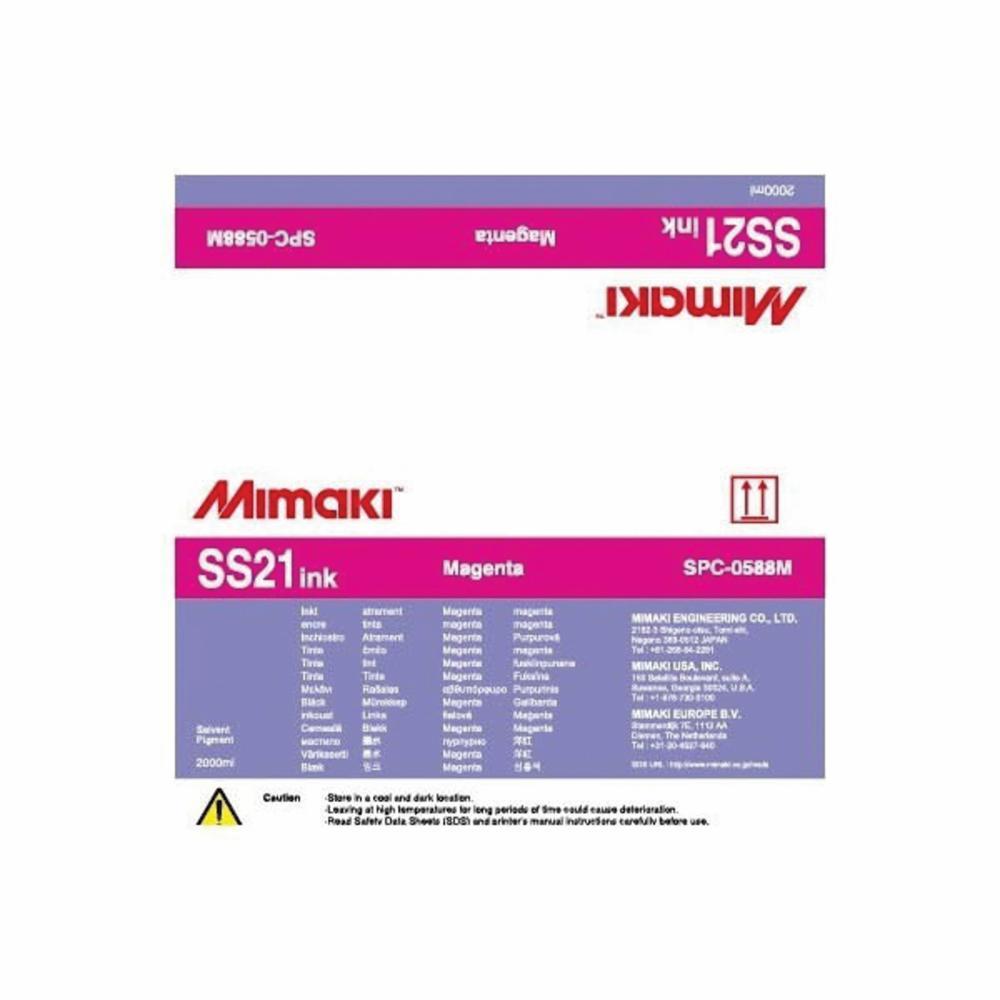 SS21 Series JV / CJV 33, 150 & 300 | Mimaki USA SPC-0588M | Reece Supply