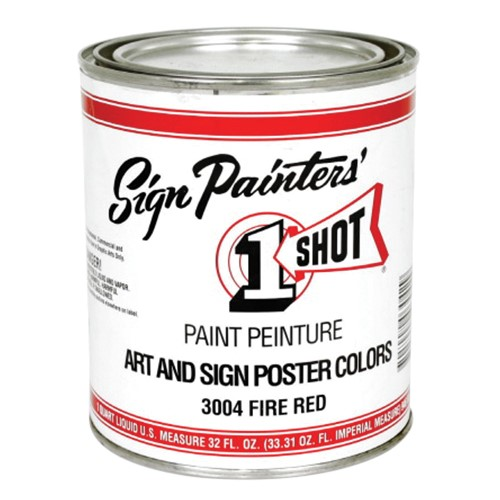 Paint primers supplies one shot reece supply art sign poster colors publicscrutiny Image collections
