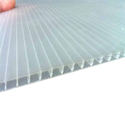 corrugated plastic inteplast group trim square white 48x96x4mm reece supply. Black Bedroom Furniture Sets. Home Design Ideas